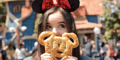 VIDEO: Explore Disneyland's vegan food options with Disney Channel star Aubrey Miller