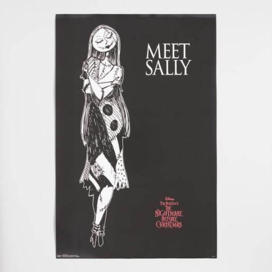Disney's Nightmare Before Christmas Meet Sally Poster