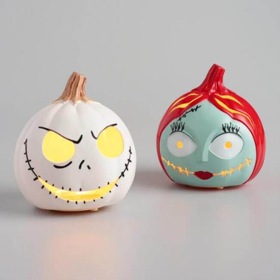 Disney's Nightmare Before Christmas LED Pumpkins