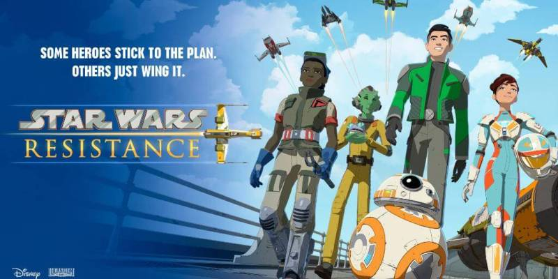 star wars resistance new poster details revealed for lucasfilm s