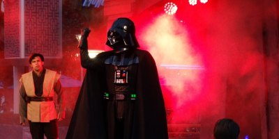 Darth Vader at Jedi Training: Trials of the Temple