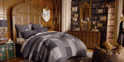Pottery Barn's Harry Potter collection Great Hall Bed