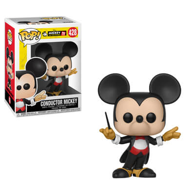 Mickey's 90th Funko POP! Conductor Mickey