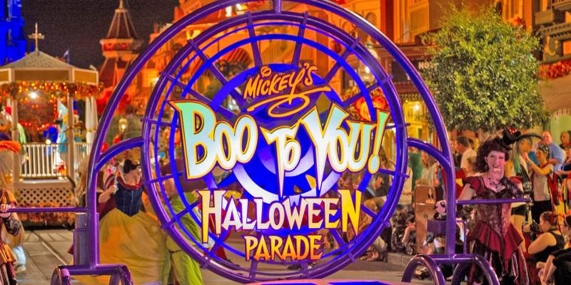 video frighteningly fun parade and fireworks shows return to mickeys not so scary halloween party 2018