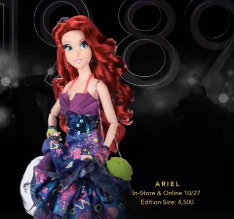Disney Designer Ariel Doll