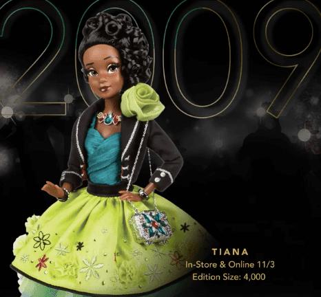 Disney Designer Tiana Doll
