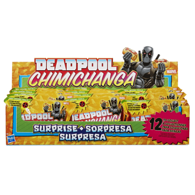 Deadpool chimichanga Surprise Packs