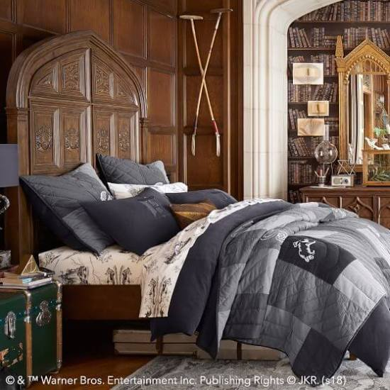 Pottery Barn Harry Potter Bed