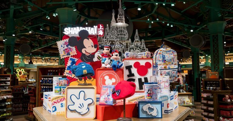 Mickey in Shanghai