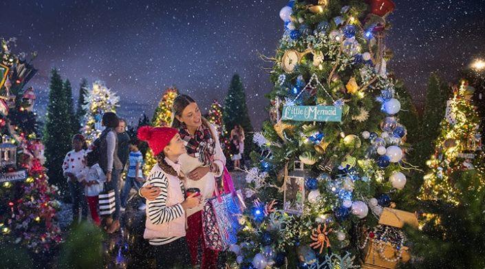christmas tree trail image copyright disney