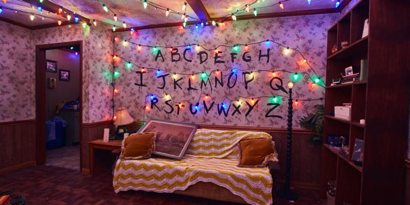 """Stranger Things"" haunted house"