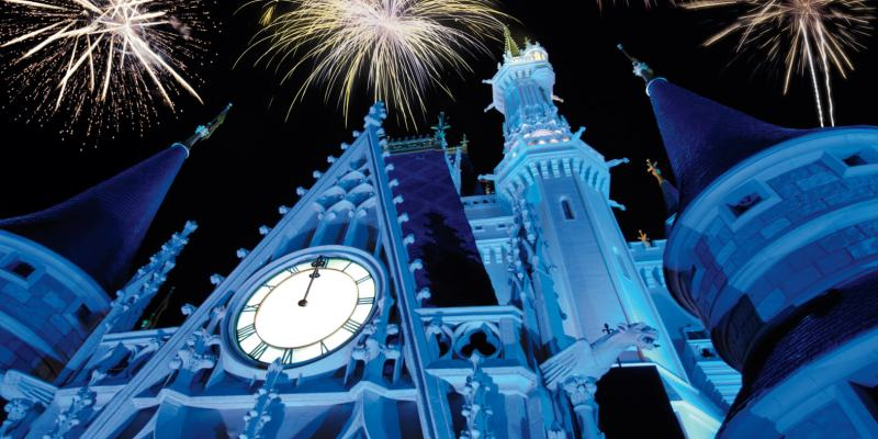 New Year's Eve Walt Disney World