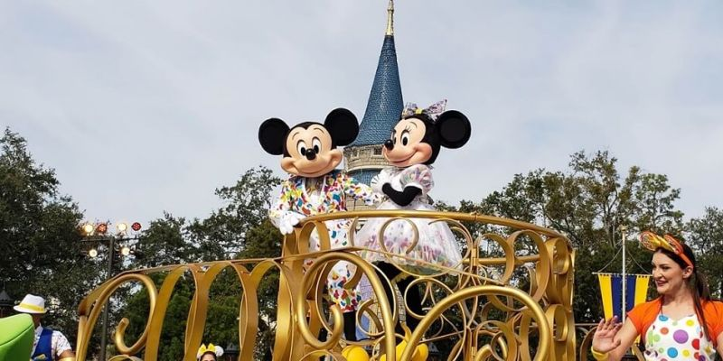 Mickey Mouse Parade at Disney World