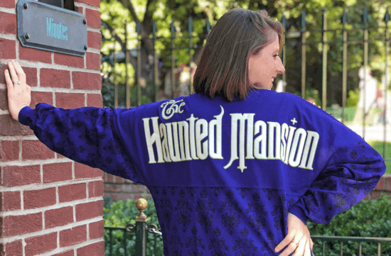 The Haunted Mansion spirit jersey