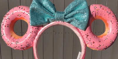 Minnie Mouse Donut Ears