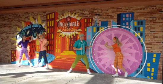 the incredibles pixar place