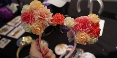 Floral-inspired Minnie Mouse Ears