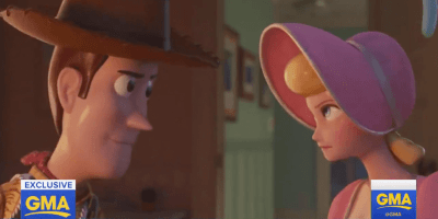 "New ""Toy Story 4"" clip shows Bo Peep and Woody back in action, reveals details of past relationship"