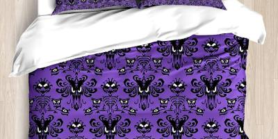 haunted mansion bedding