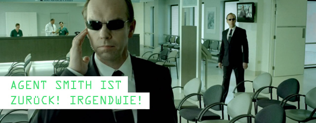 Agent Smith bei GE