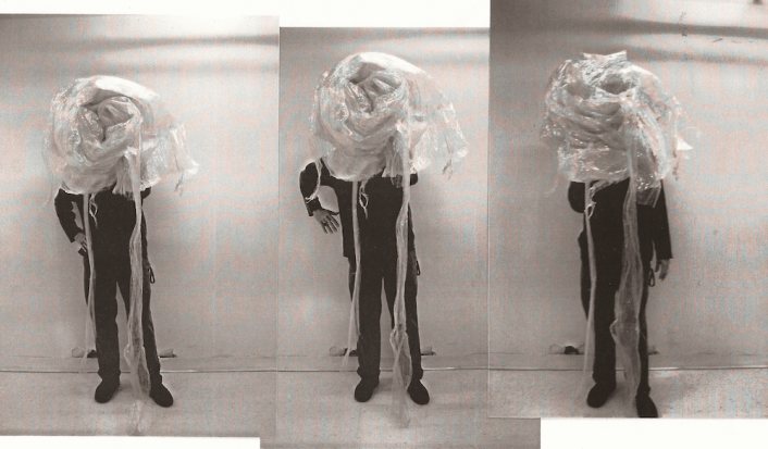 Jefre in his Easter Bonnet / Plastic Man in the Sub-Basement (part II) 1, Jefre Harwoods. 2012