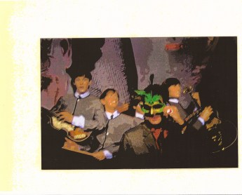 Jefre, at the Masked Ball, with England's Phenomenal Pop Combo