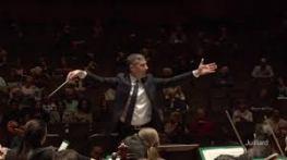 Benjamin Hochman conducting the Juilliard Orchestra
