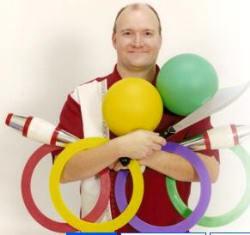 David Cain juggler