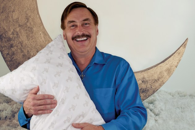 Photo of Mike Lindell, the Pillow Guy