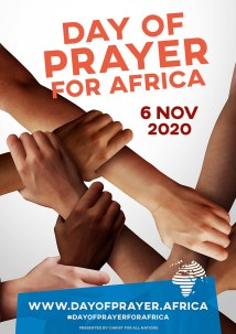 Poster for Christ for All Nations (CfaN) International Day of Prayer for Africa