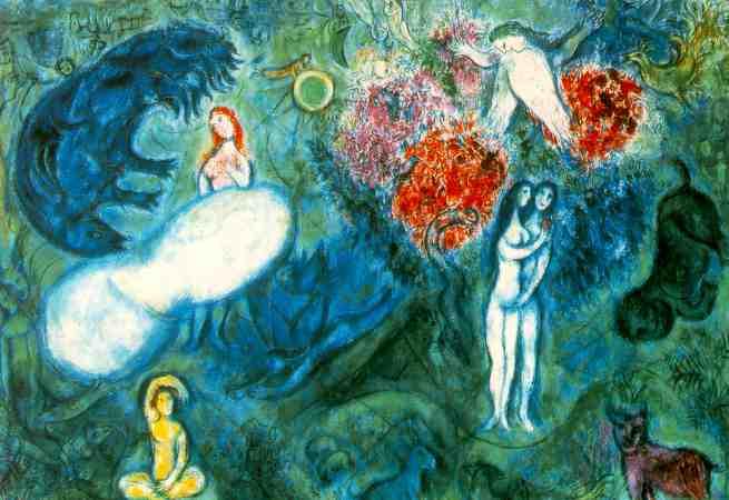 Marc Chagall, L'Eden, Genesi 1,26