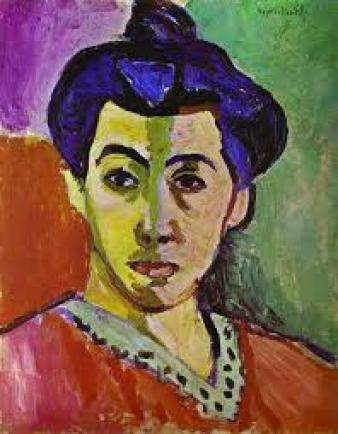 Henri Matisse, Ritratto con la riga verde