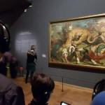 Eugène Delacroix, Leons hunting (shoot at Musée du Louvre March 29th) insidethestaorcase.ellie