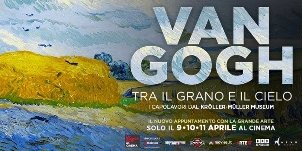 Van Gogh between the wheal and the sky movie banner
