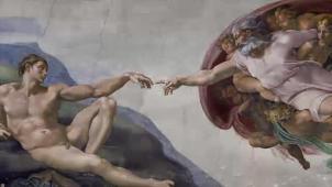 Michelangelo Buonarrotti, Volta della Cappella Sistina, particolare