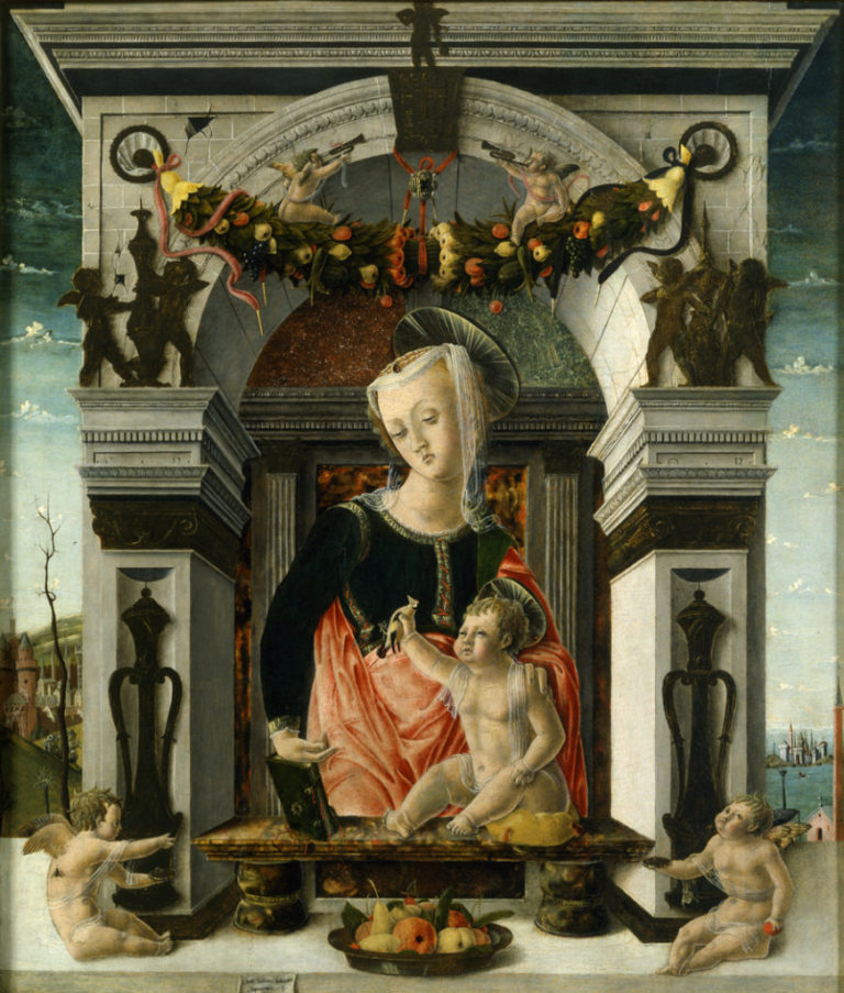 Giorgio Culinovic detto lo Schiavone Madonna con il Bambino 1456- 1459 Musei Reali Torino