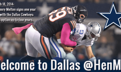 Cowboys Headlines - Cowboys Get Their Man, Sign Henry Melton