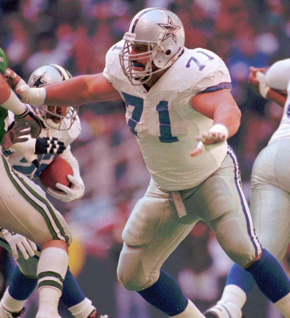 Cowboys Blog - #71 Belongs To Great Wall Of Dallas Member Mark Tuinei 1