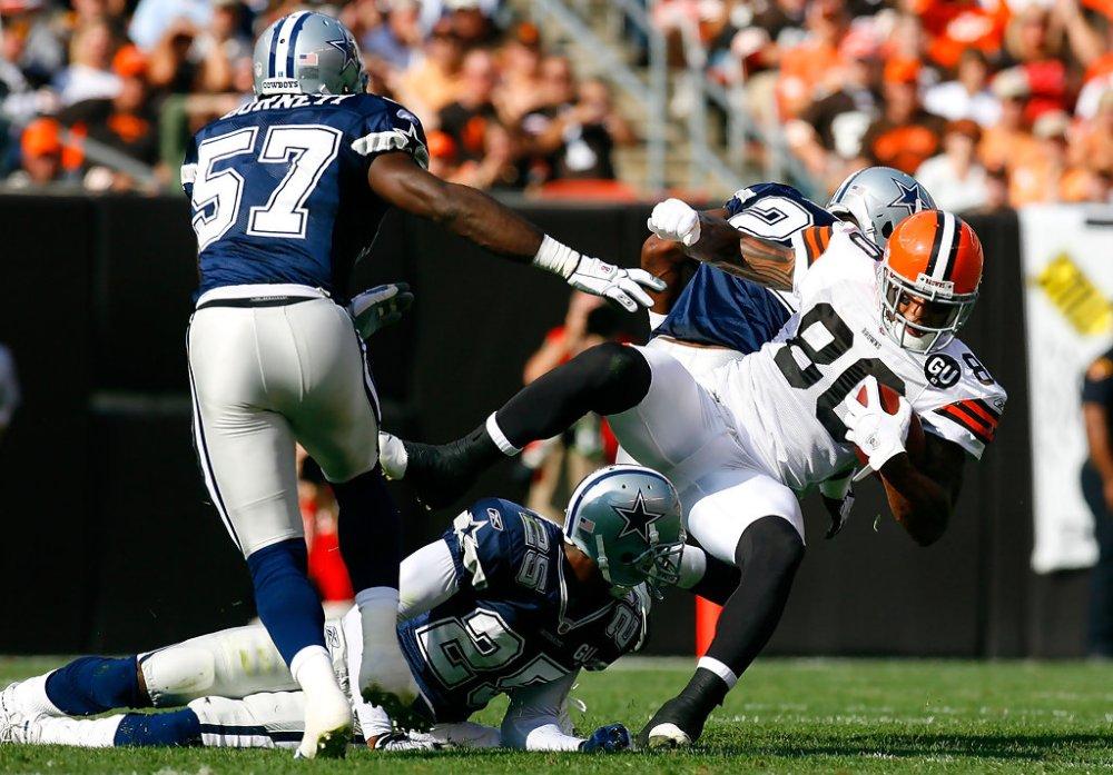 Cowboys Blog - Pick Six Scores Kevin Burnett #57 5