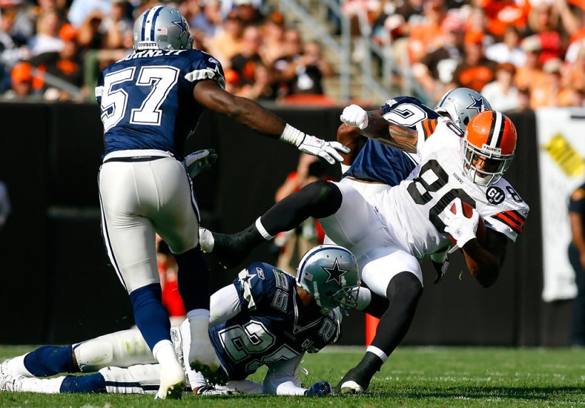 Cowboys Blog - Pick Six Scores Kevin Burnett #57 5