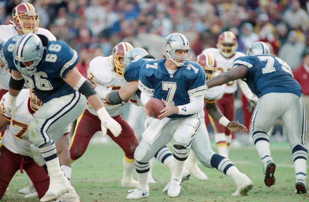 Cowboys CTK: Steve Beuerlein Makes His Way To #7 ✭
