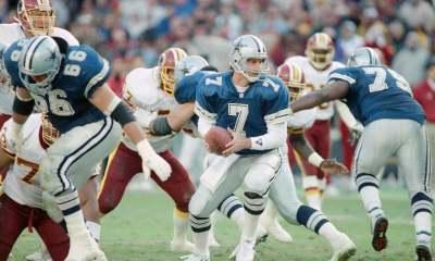 Cowboys Blog - Cowboys CTK: Steve Beuerlein Makes His Way To #7