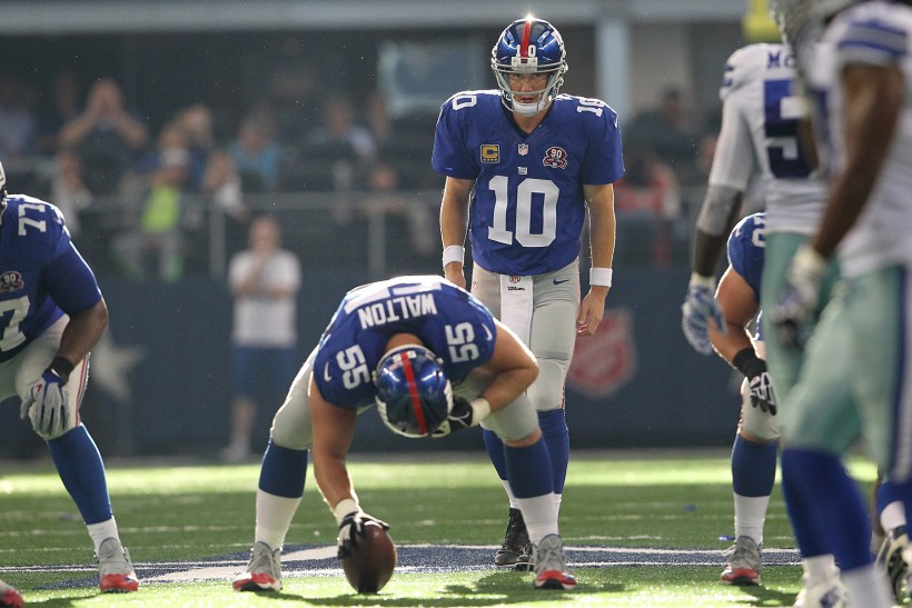 Cowboys Blog - Giants' Fans Bank on Eli to Produce in Week 1