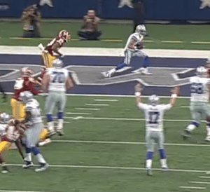 Cowboys Blog - Top Plays From The Dallas Cowboys Loss To The Washington Redskins 2