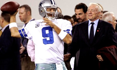 NFL Draft - Jerry Jones Addresses the Value of Drafting a QB to Learn from Romo