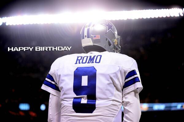 Cowboys Headlines - Happy Birthday To Dallas Cowboys Quarterback Tony Romo!