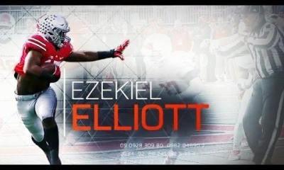 Cowboys Draft - [VIDEO] Ezekiel Elliott Dominates in Zone Blocking Scheme 5