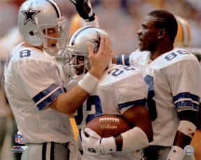 Cowboys Headlines - Emmitt Stands Above Aikman, Irvin in Fan Poll 1