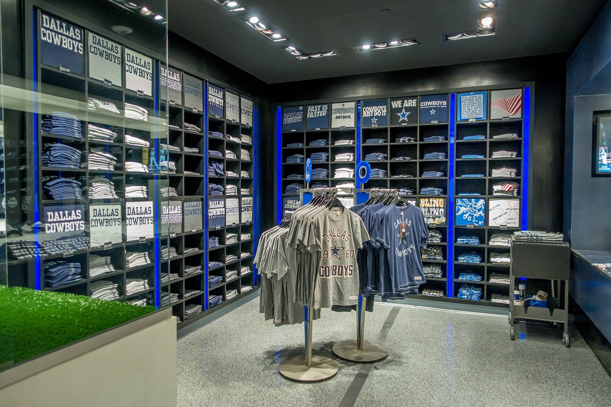 half off ce2a6 a2c3f Dallas Cowboys Completely Dominate NFL Merchandise Sales ✭