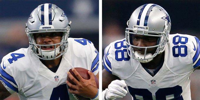 Cowboys Headlines - Connect Four: Dak Prescott To Dez Bryant Connection 1